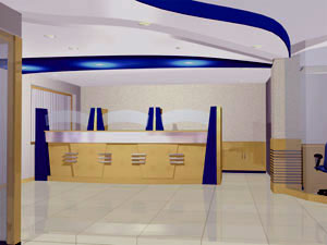 Teller counter - Conceptualised